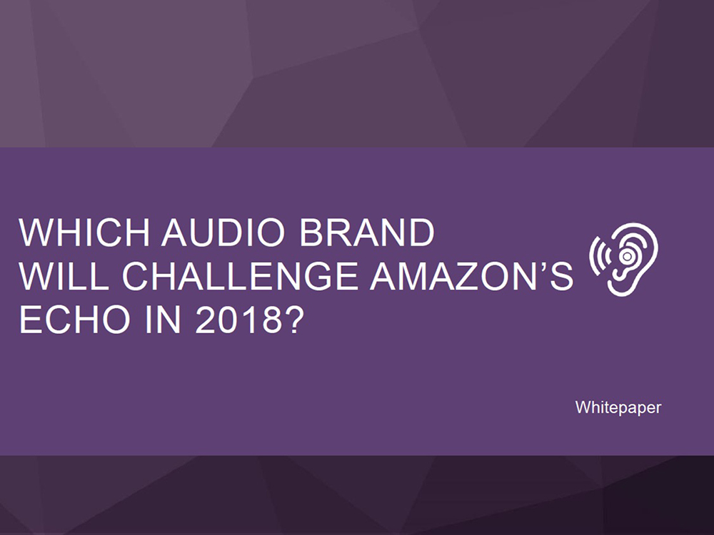 New Juniper Research Report Forecasts Smart Audio Hardware Revenues to Grow by Over 300% in the Next 5 Years