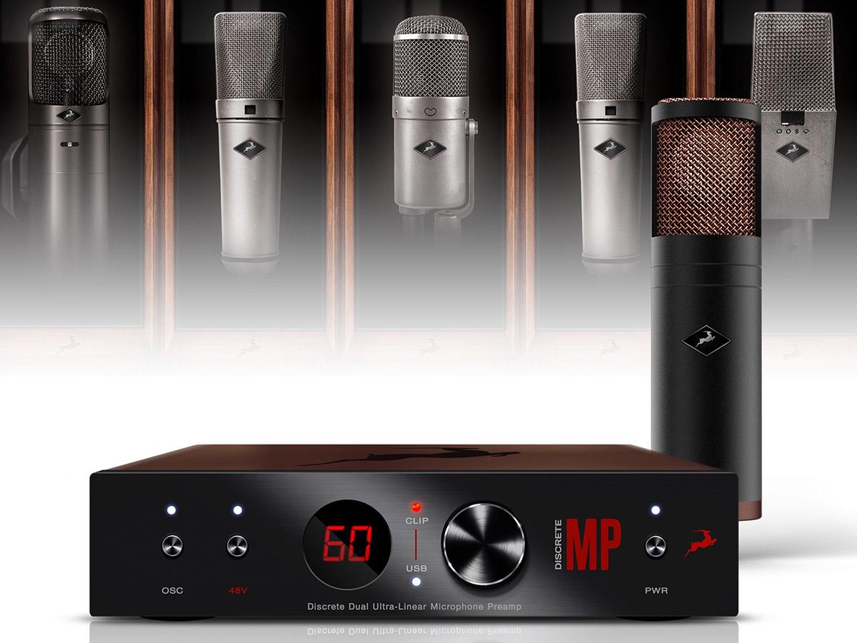 Antelope Audio Announces Availability Of Edge Strip Discrete Preamp Figure 1 Balance Input Pre Microphone Amplifier Circuit And Modeling Mic Bundle Audioxpress