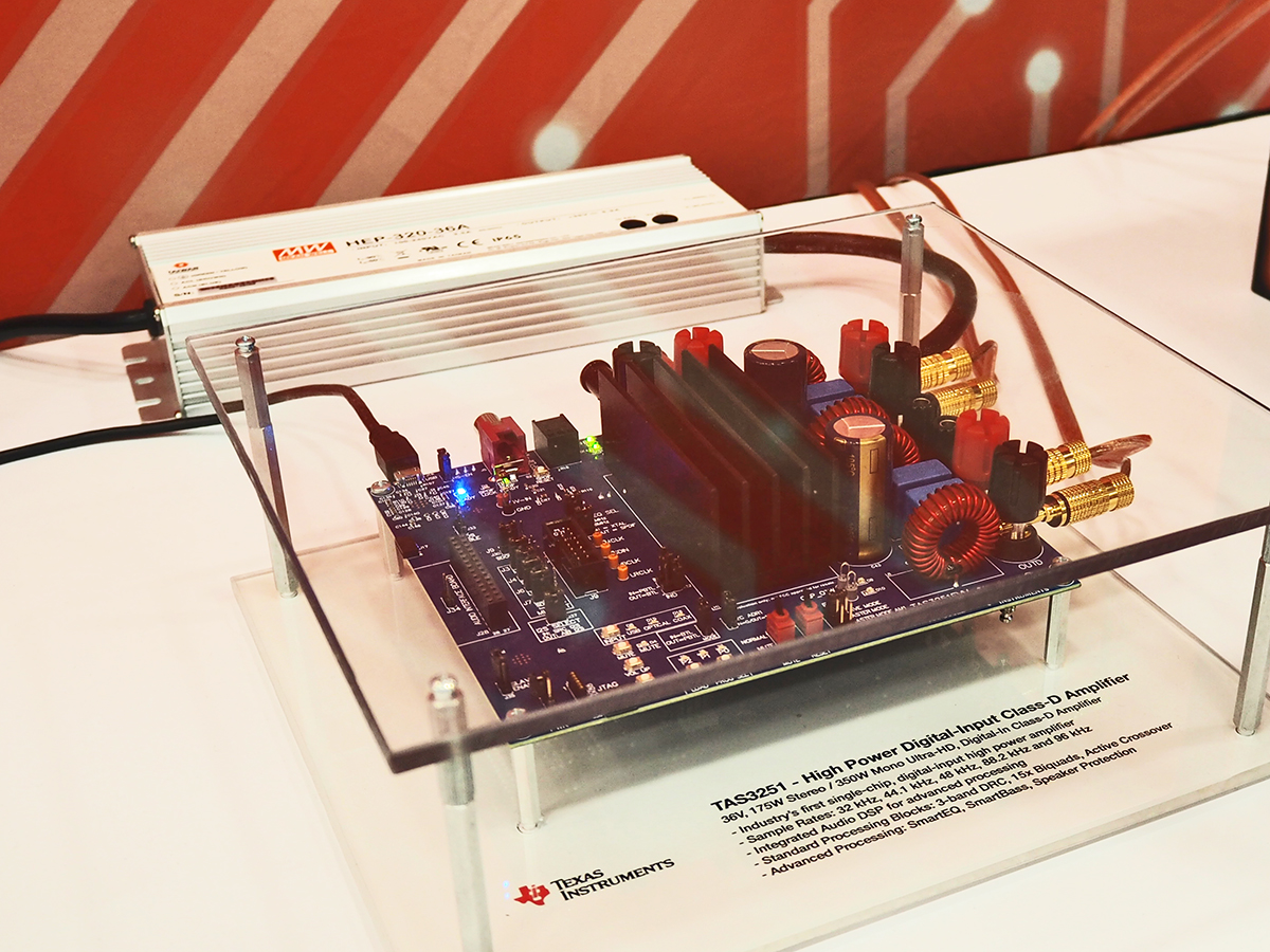 Texas Instruments Launches Three New Class D Amplifiers To Solve 20w Car Audio Amplifier Circuit Design Smart Home Challenges Audioxpress