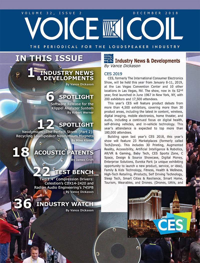 Voice Coil December 2018