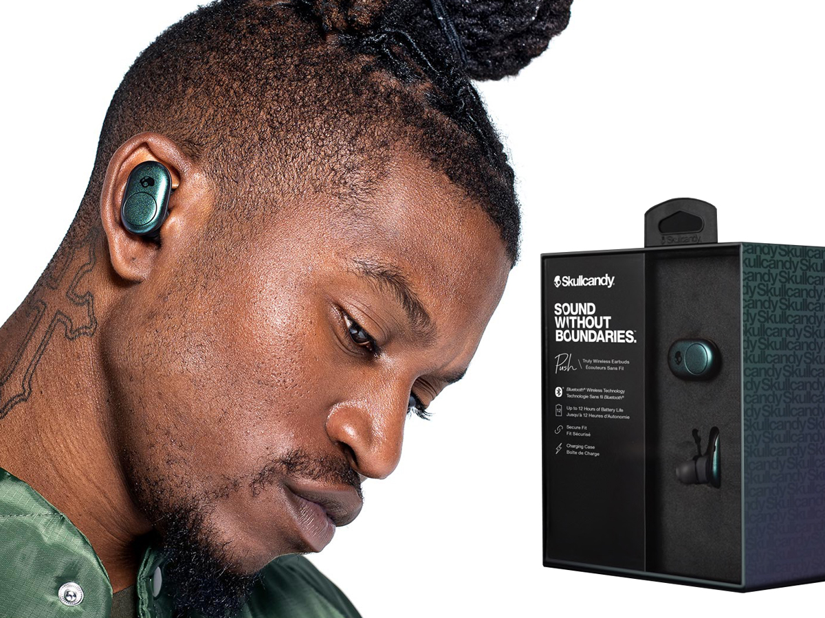 13b4183383f Skullcandy Launches Push, Its First Truly Wireless Earbud | audioXpress