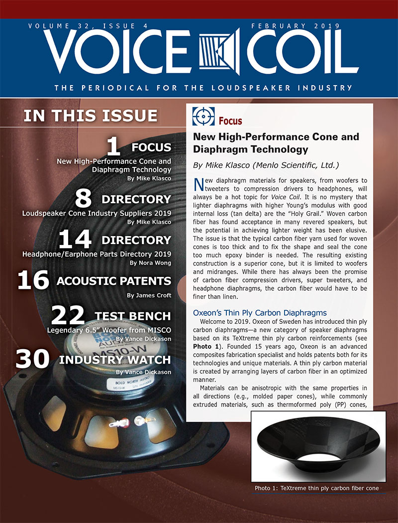 Voice Coil February 2019