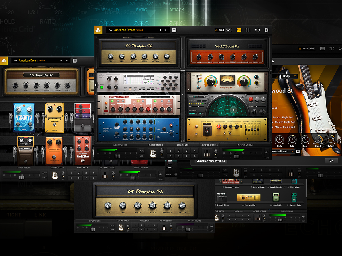 positive grid releases even more powerful bias fx 2 guitar amp and effects processor software. Black Bedroom Furniture Sets. Home Design Ideas