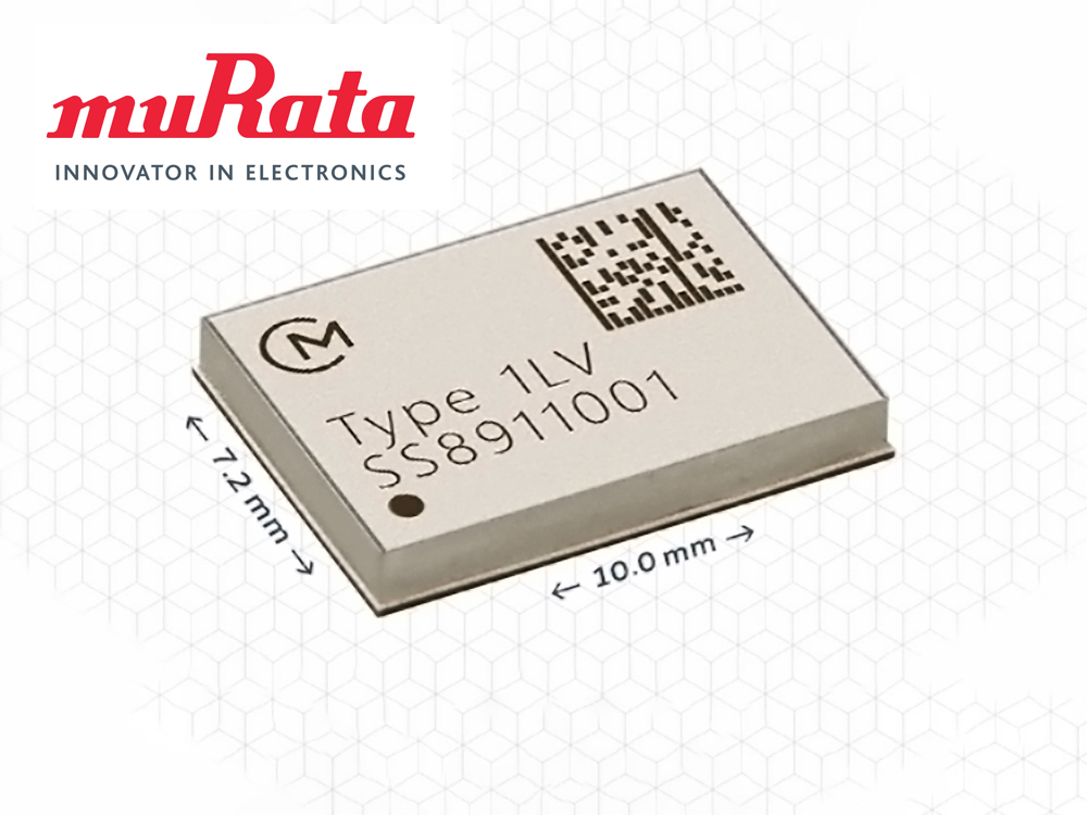 Murata Announces Lowest Power Wi-Fi and Bluetooth 5 Combo Module for Portable Audio Applications