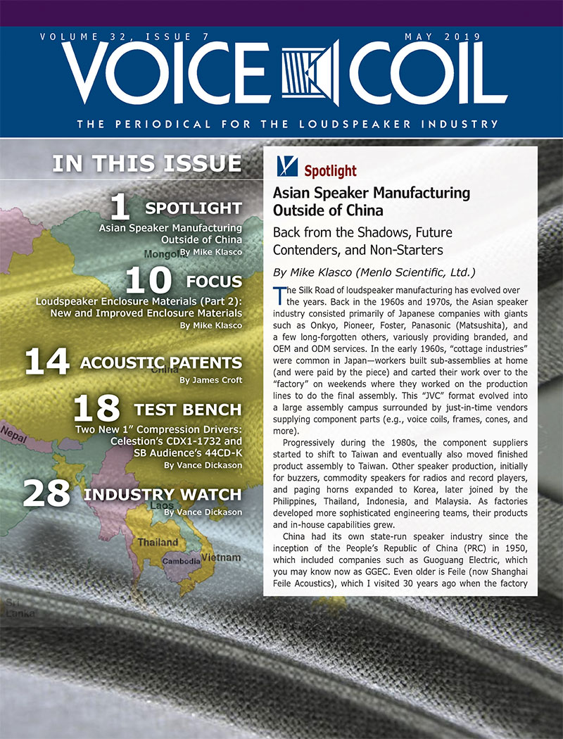 Voice Coil May 2019