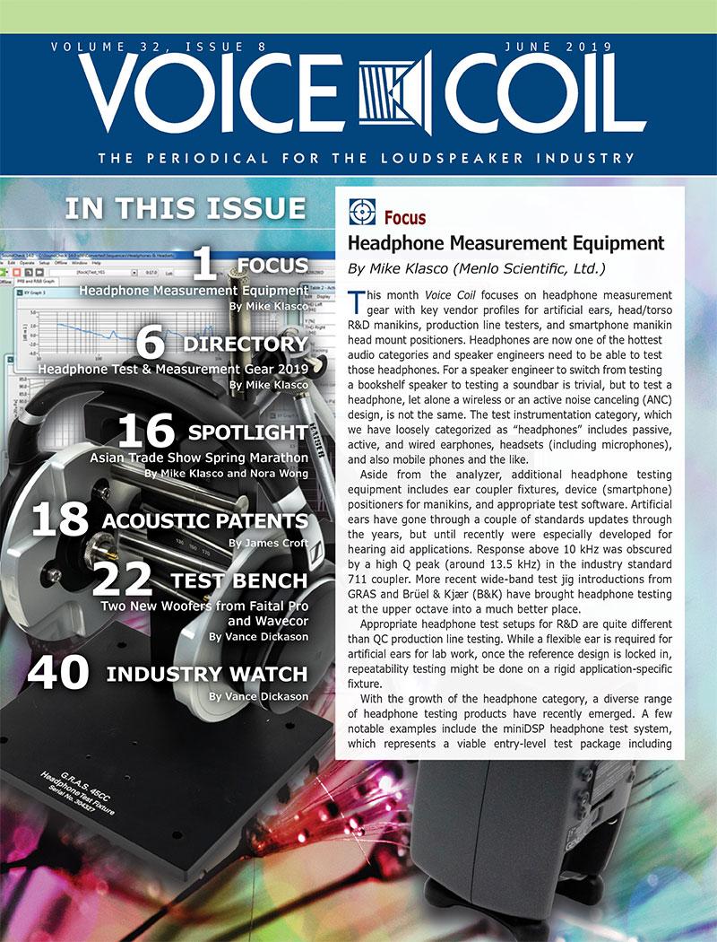 Voice Coil June 2019