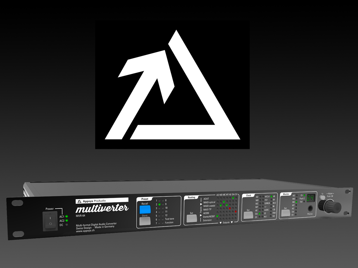 Synthax Named U.S. Distributor for Swiss Audio Networking Specialist Appsys Pro Audio