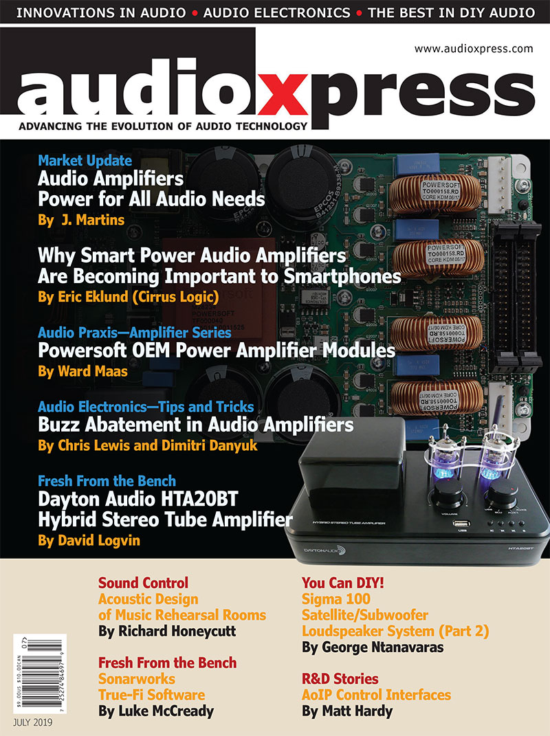 audioXpress July 2019