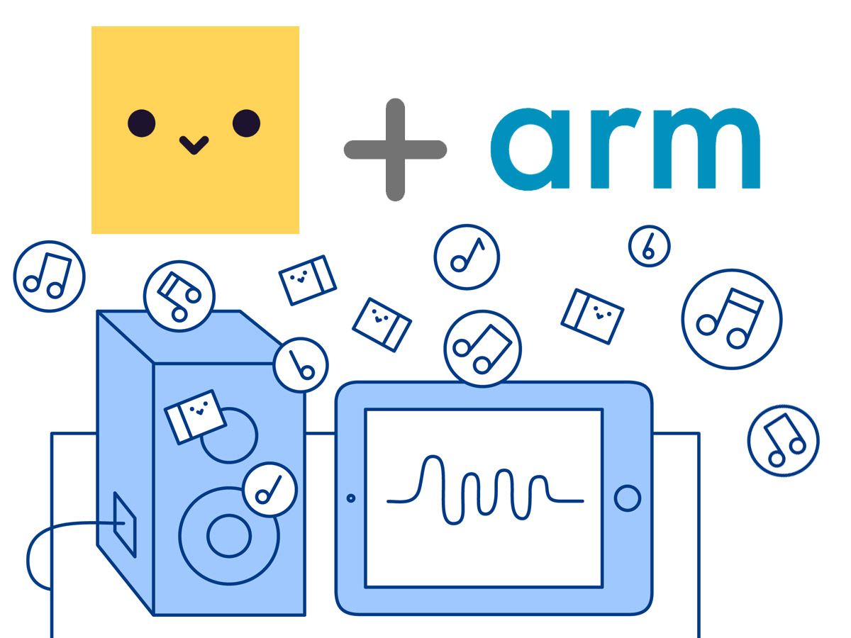 Chirp Data-Over-Sound Technology Supports ARM Cortex-A and Cortex-M