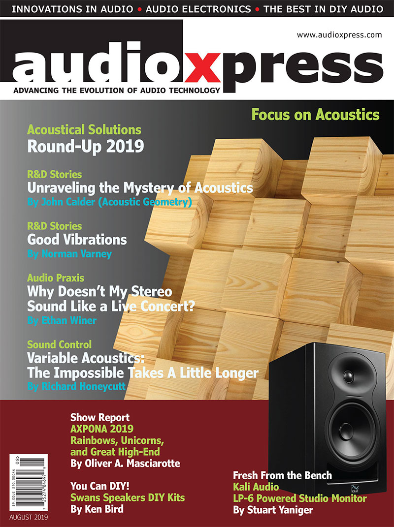 audioXpress August 2019