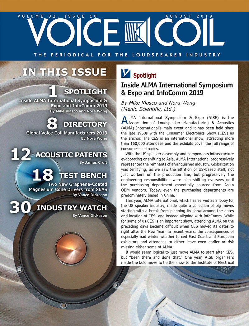 Voice Coil August 2019