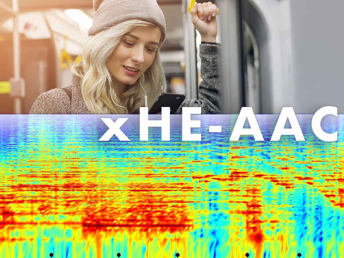 xHE-AAC Adaptive Bit Rate Audio Codec Now Natively Supported on Apple, Amazon and Android Products