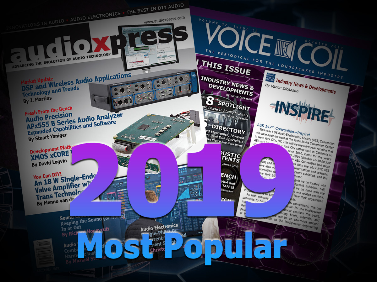audioXpress.com - The Most Popular Stories of 2019