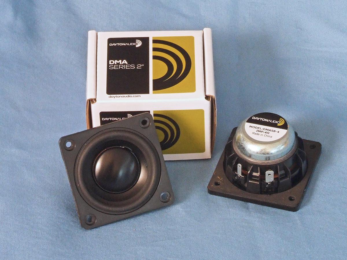 Dayton Audio DMA58-8 2 Aluminum Cone Full-Range Driver