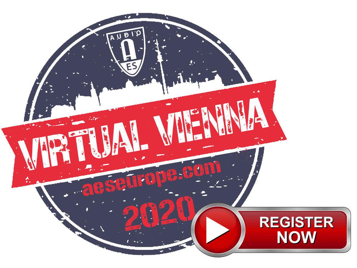 AES Virtual Vienna Convention to Connect Students and Educators Worldwide in Four-Day Online Event