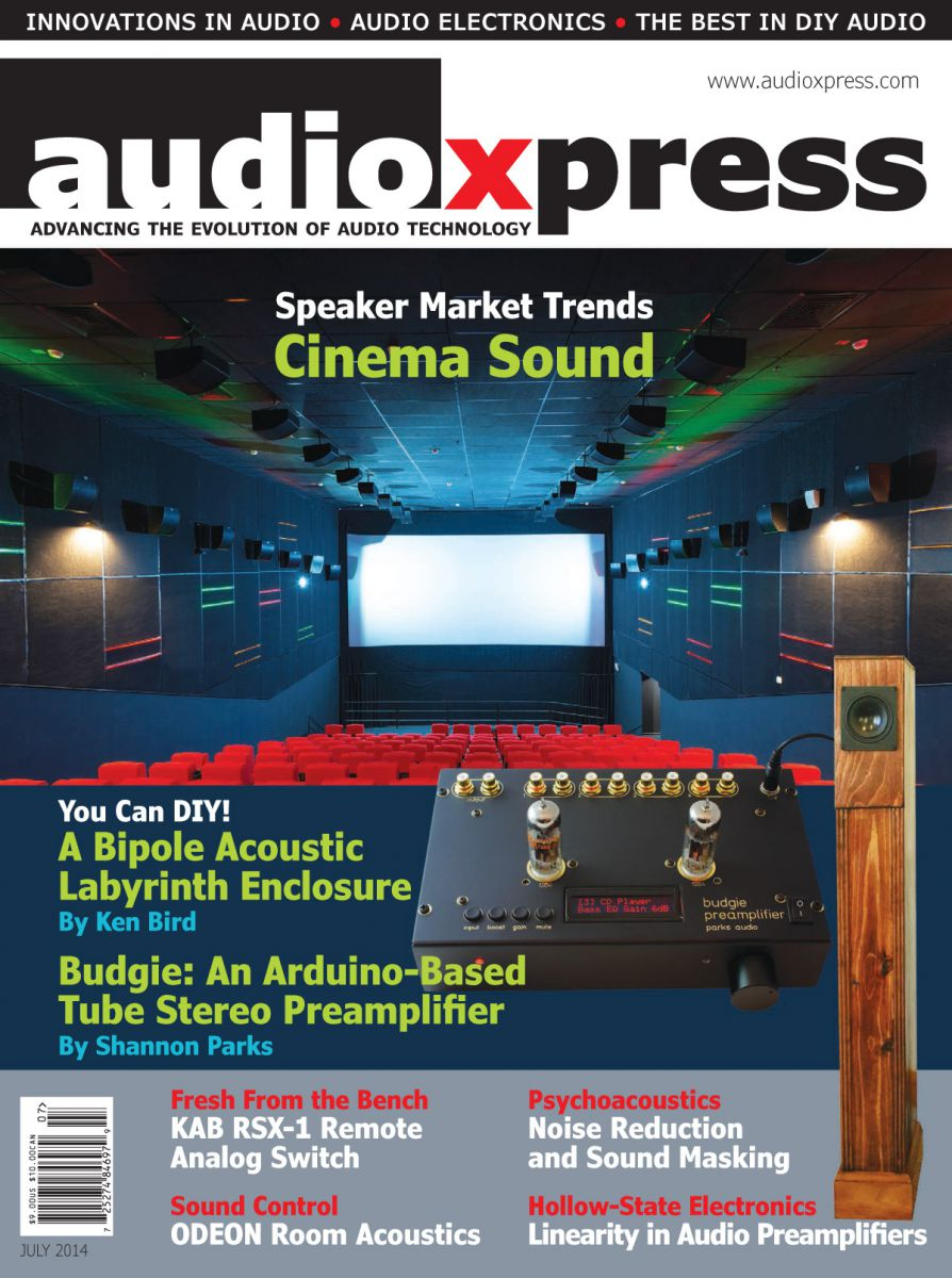 The July 2014 issue of audioXpress is now online    audioXpress
