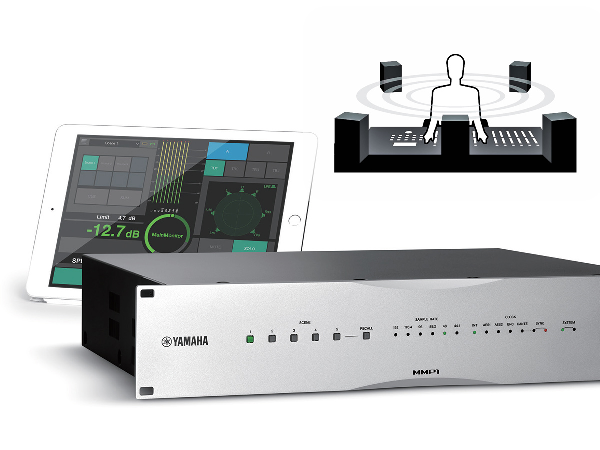 Yamaha Launches The Mmp1 Studio Monitor Management System