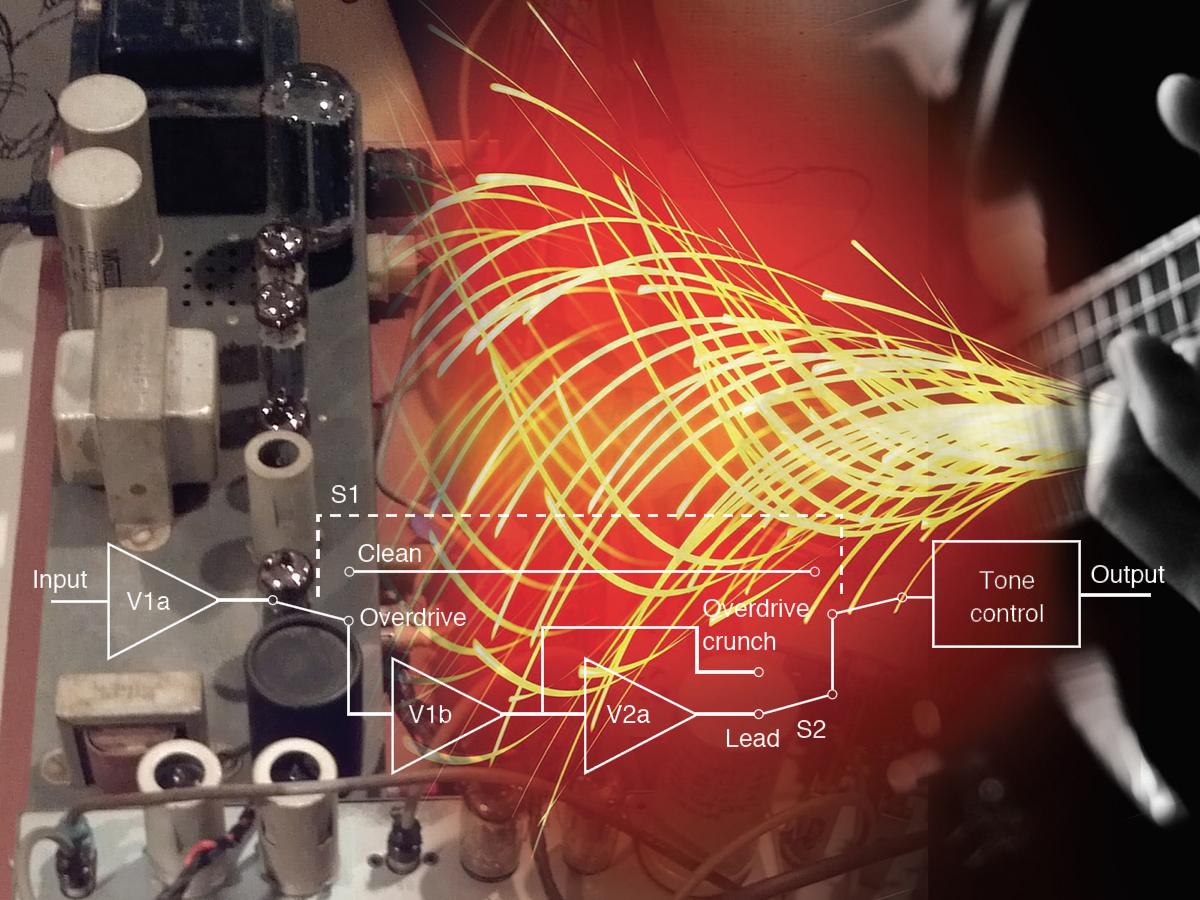 Tone Control Low Noise Circuit