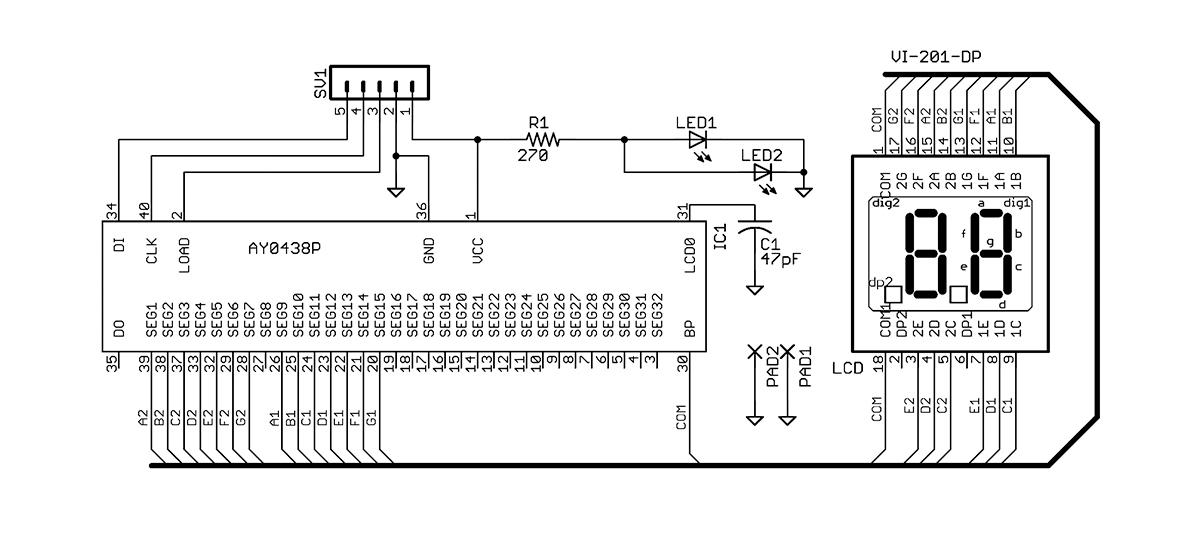 build a bcd digital potentiometer audioxpressfigure 3 potentiometer display