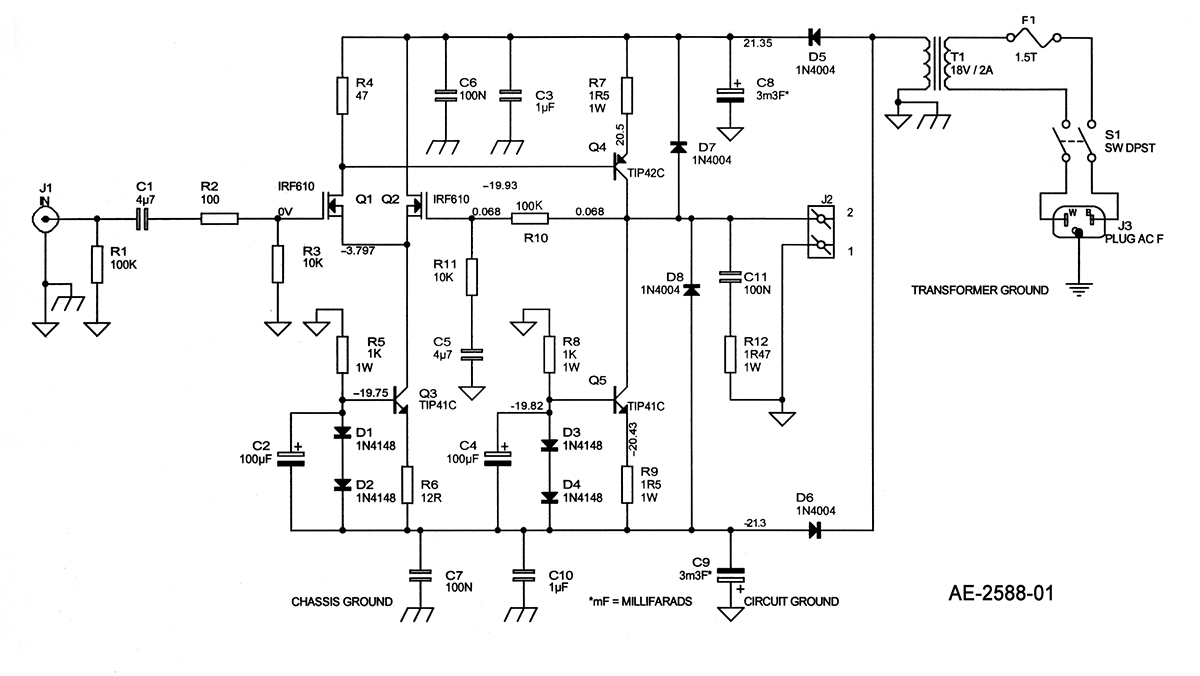 a solid state single ended power amp audioxpressfigure 1 amplifier circuit