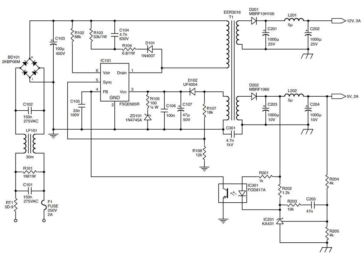 3842 pwm power supply application note datasheet and applicationrepairing switching mode power supplies audioxpressfigure 3 here is another variation of a small switching supply