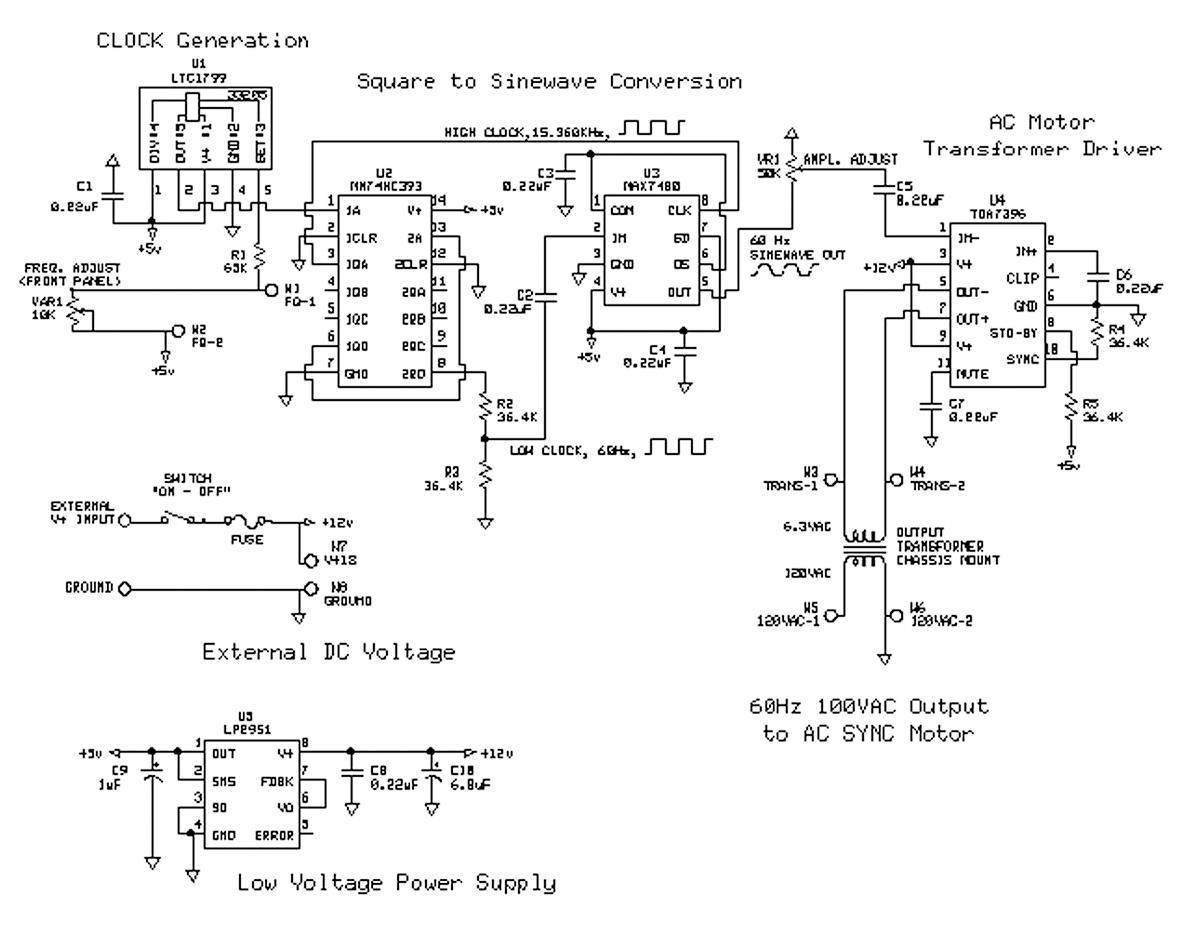 Wiring Diagram Turntable | Wiring Diagram on