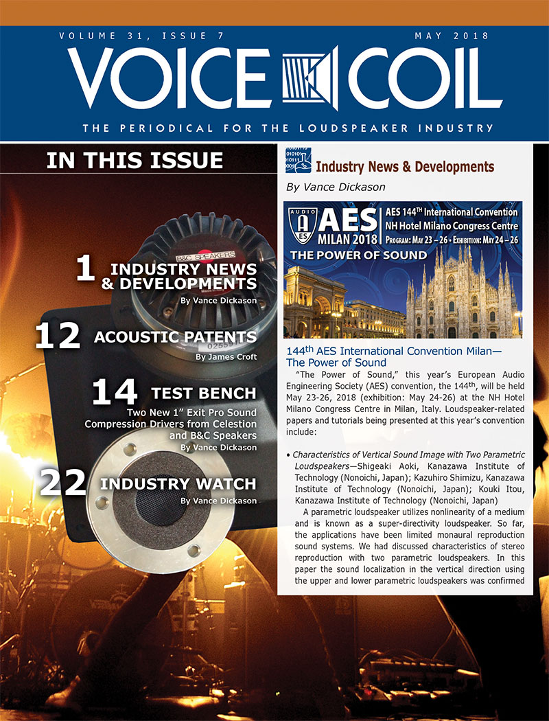 Voice Coil May 2018