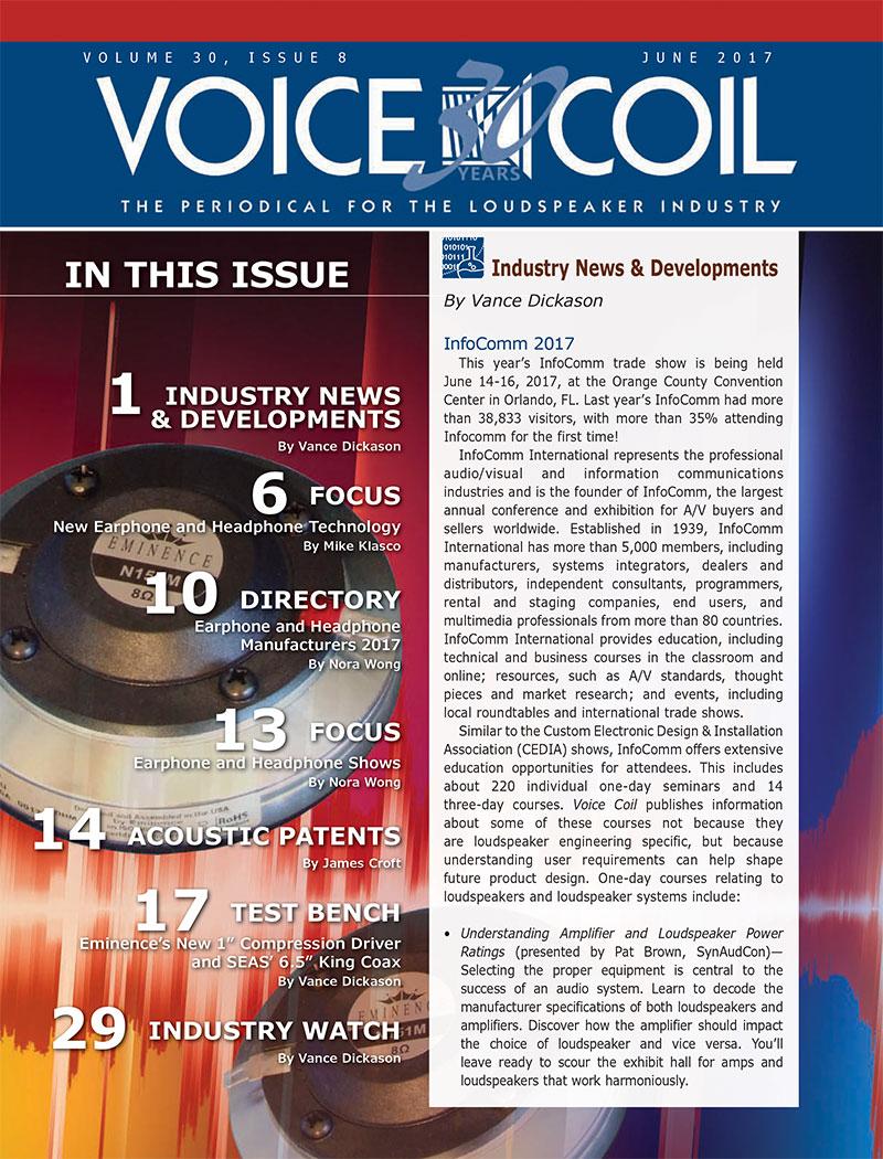 Voice Coil June 2017