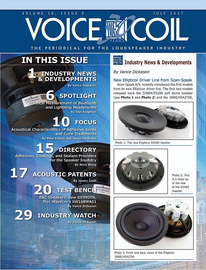 Voice Coil July 2017