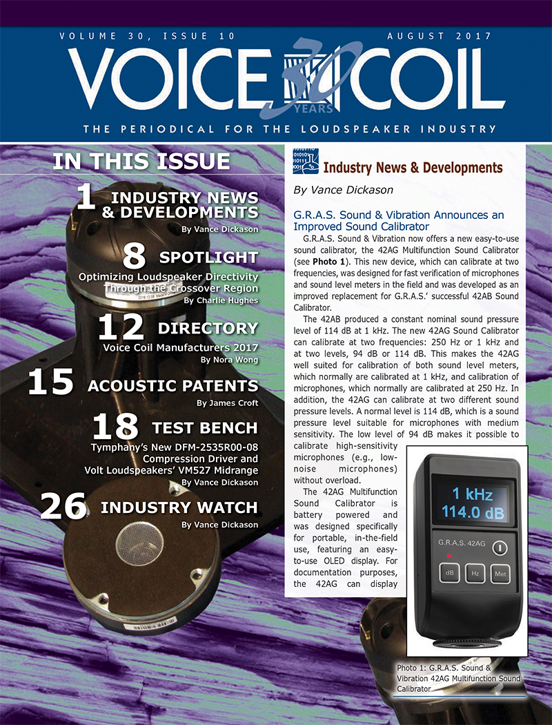 Voice Coil August 2017