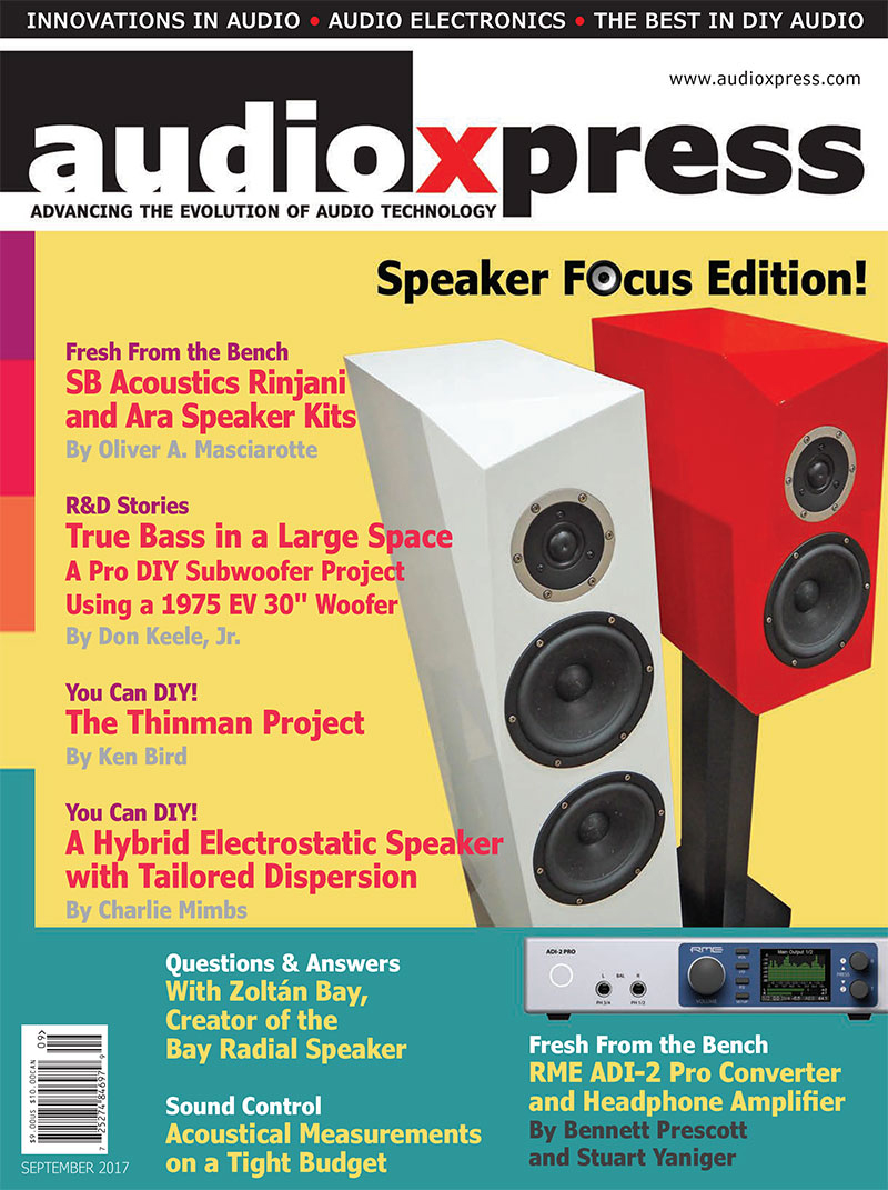 audioXpress September 2017