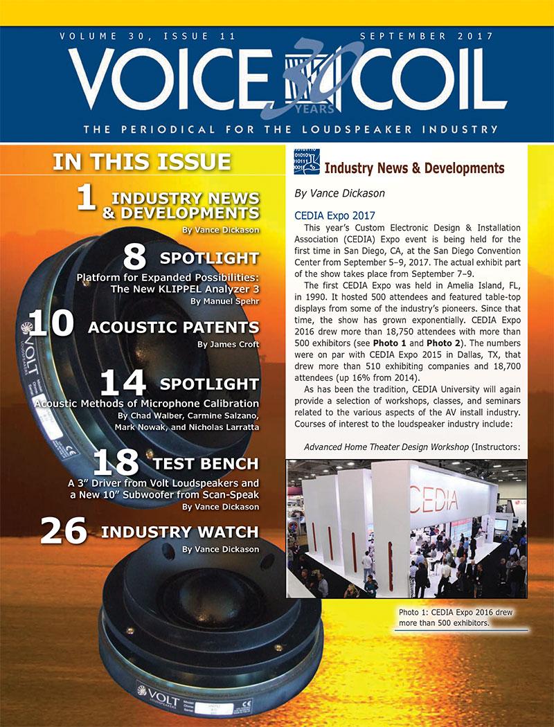 Voice Coil September 2017