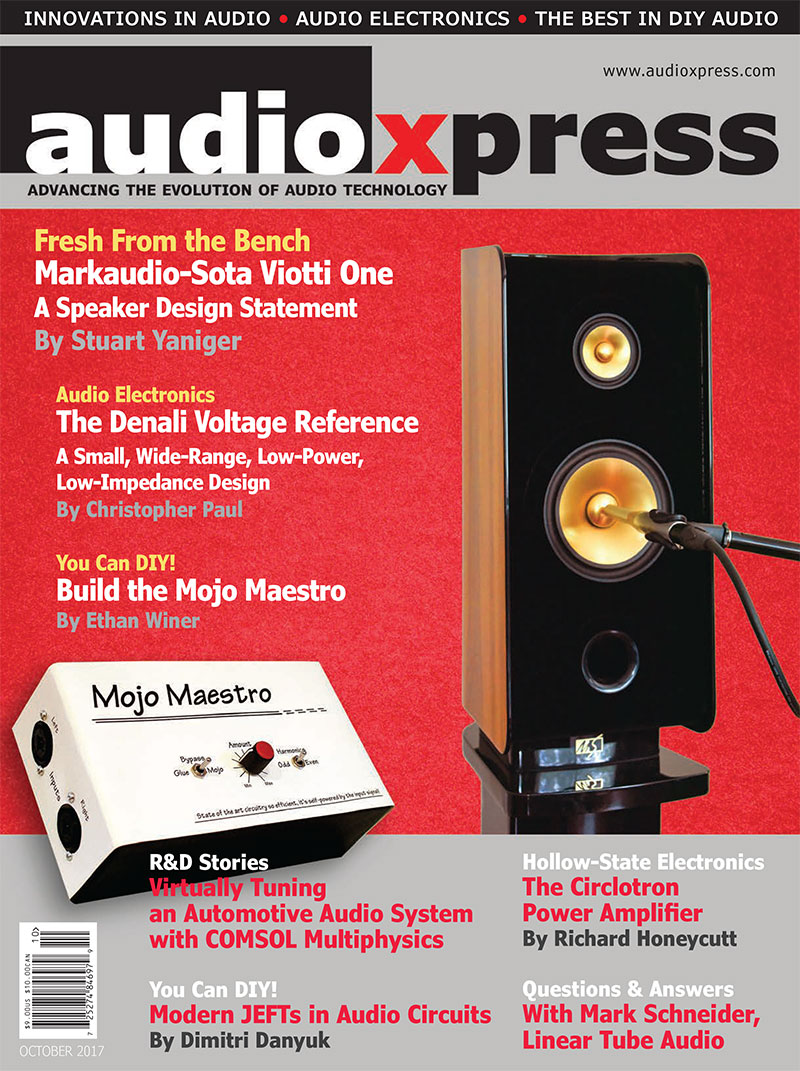 audioXpress October 2017