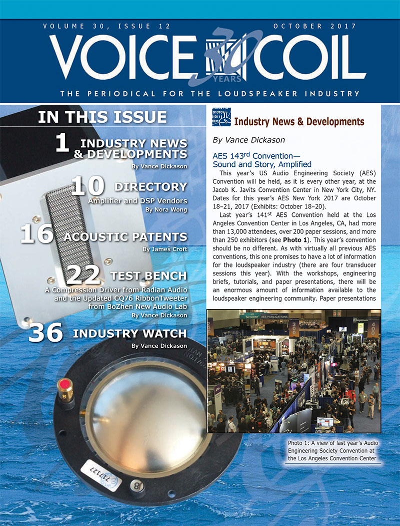 Voice Coil October 2017