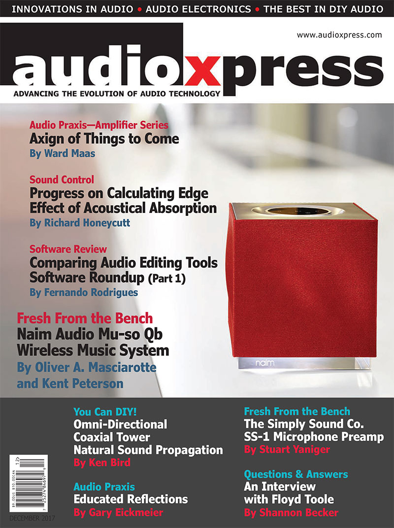 audioXpress December 2017