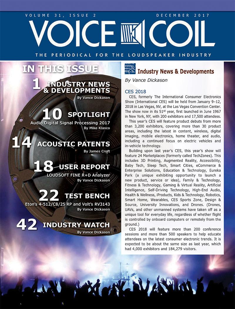 Voice Coil December 2017