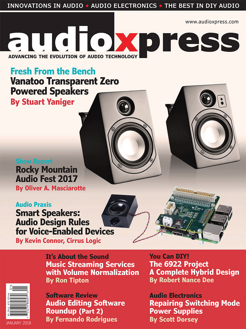 audioXpress January 2018