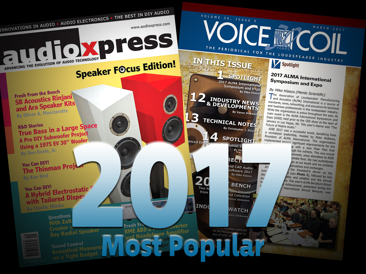 audioXpress.com: The Most Popular Stories Of 2017