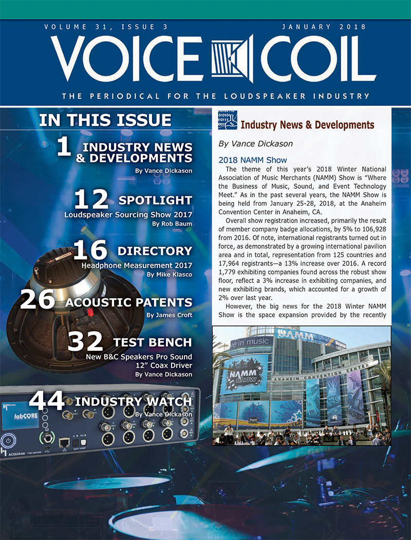 Voice Coil January 2018