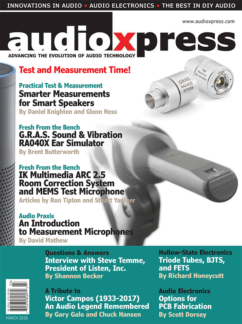 audioXpress March 2018