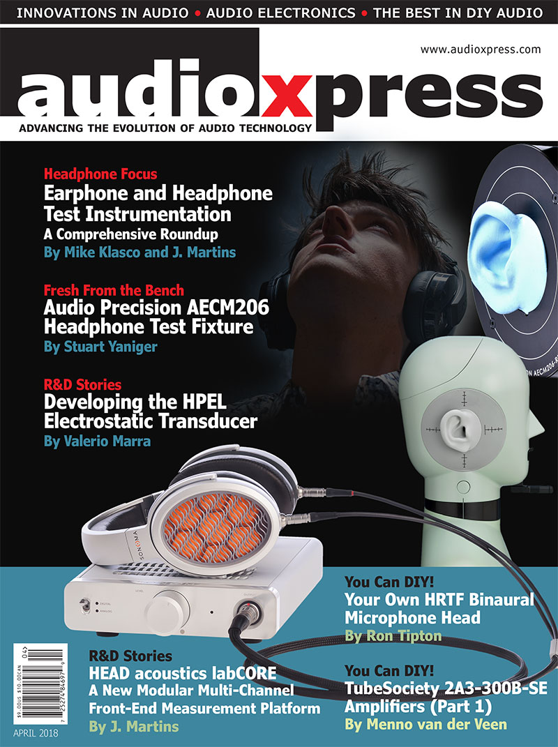 audioXpress April 2018