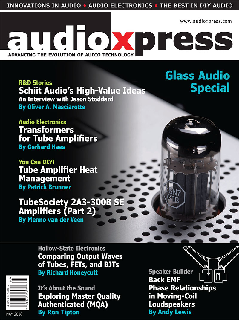audioXpress May 2018