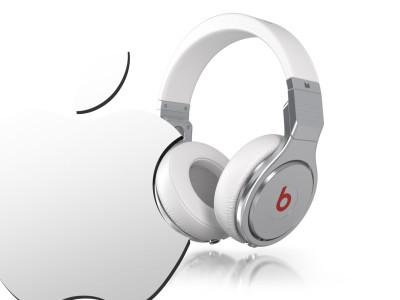 Apple bytes Beats Music & Beats Electronics