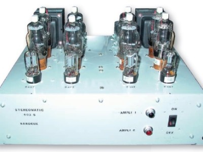Tube Amp Project: The Nardeaux Steromatic 602 S