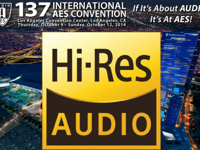 137th Audio Engineering Society Convention Focus on High Resolution Audio