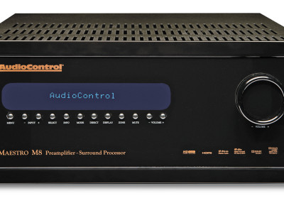 AudioControl Launches the Maestro M8 Surround Theater Preamplifier With 4K Ultra HD Processing