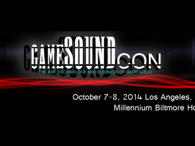 GameSoundCon 2014, 10th Conference on Video Game Music and Sound Design