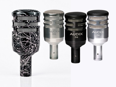 Audix Celebrates 30 Years with Special Edition D6 Microphone
