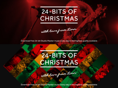 24-Bits Of Christmas—Linn Offers 24 Free High-Resolution Downloads