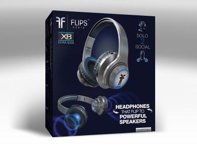 Flips Audio Announces Next Generation Headphone & Speaker Hybrid